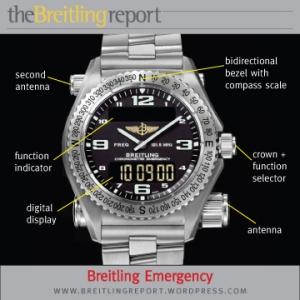 Breitling Emergency Dial Diagram