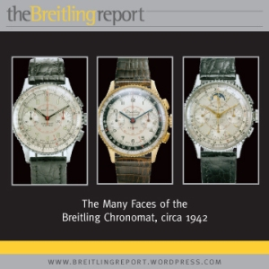 The Many Faces of the Breitling Chronomat, circa 1942