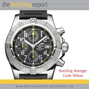 Breitling Avenger Code Yellow