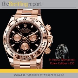 In-House Chronograph - Rolex Cosmograph Daytona.