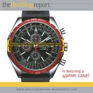 Breitling Chrono-Matic 1461....featuring a 49mm case!
