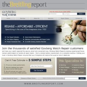 Govberg Watch Repair: Get A Free Estimate in 3 SIMPLE STEPS!