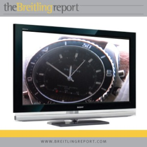 Camera zooms in on the Breitling Pluton.