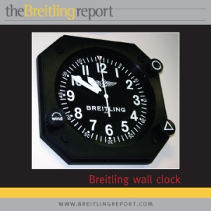 Breitling wall clock