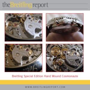 Breitling Cosmonaute - hand wound movement