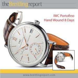 IWC Portofino Hand Wound 8 Days