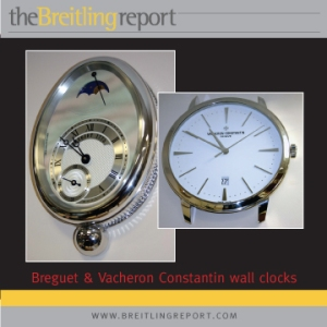Breguet and Vacheron Constantin wall clocks